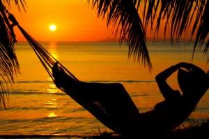 hamock sunset